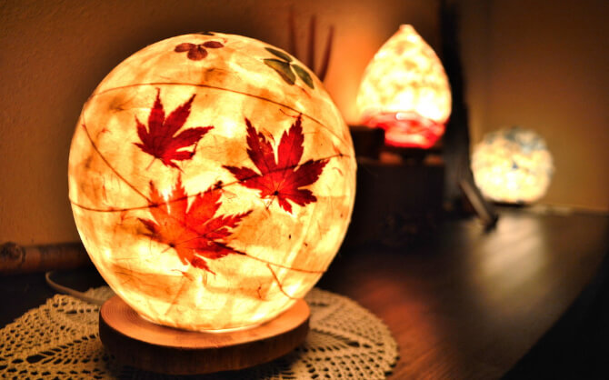 Paper craft light