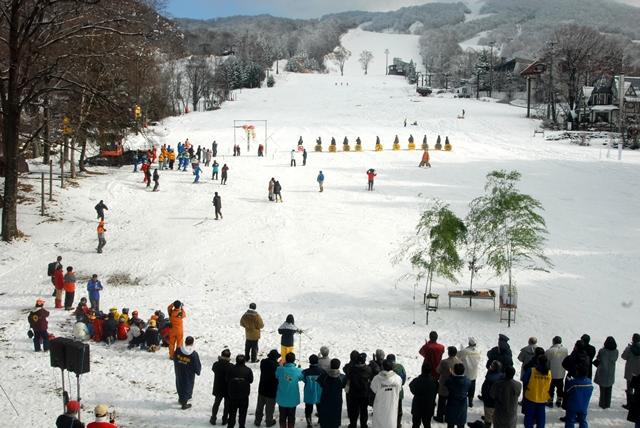 蔵王温泉スキー場開き