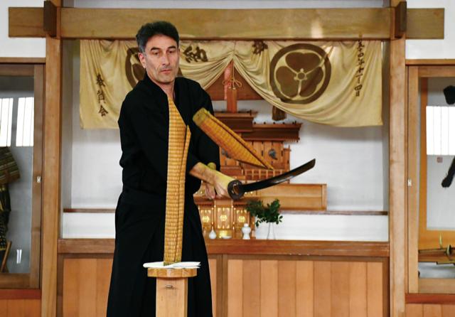 【体験】【おすすめプラン】居合抜刀術サムライ体験