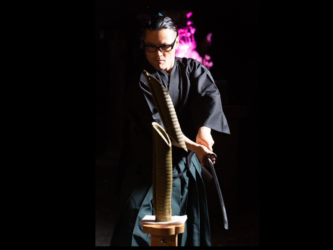 【体験】【見学プラン】居合神社サムライショー
