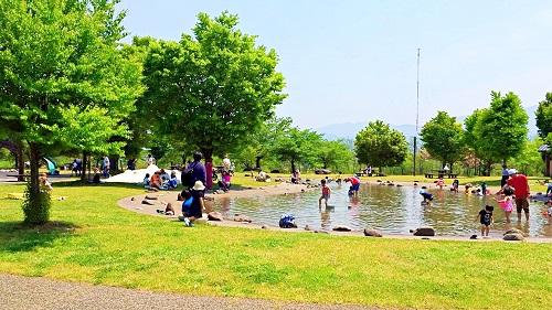 【特集記事】夏のオススメ!水遊びが楽しい山形市西公園♪
