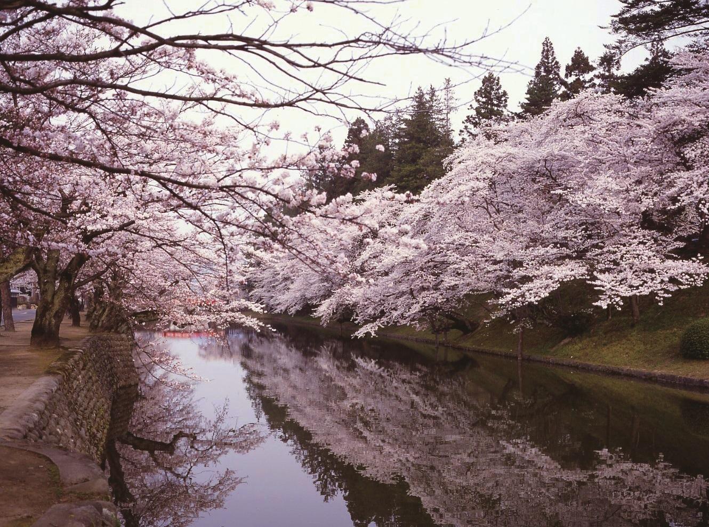 松が岬公園(米沢城址)