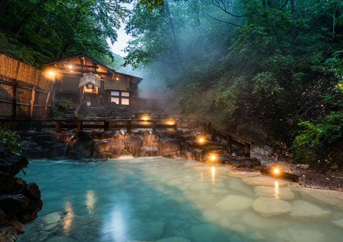 【特集記事】蔵王温泉・日帰り入浴|大露天風呂|渓流のせせらぎを聴き、雄大な大気に包まれる大自然の中の温泉