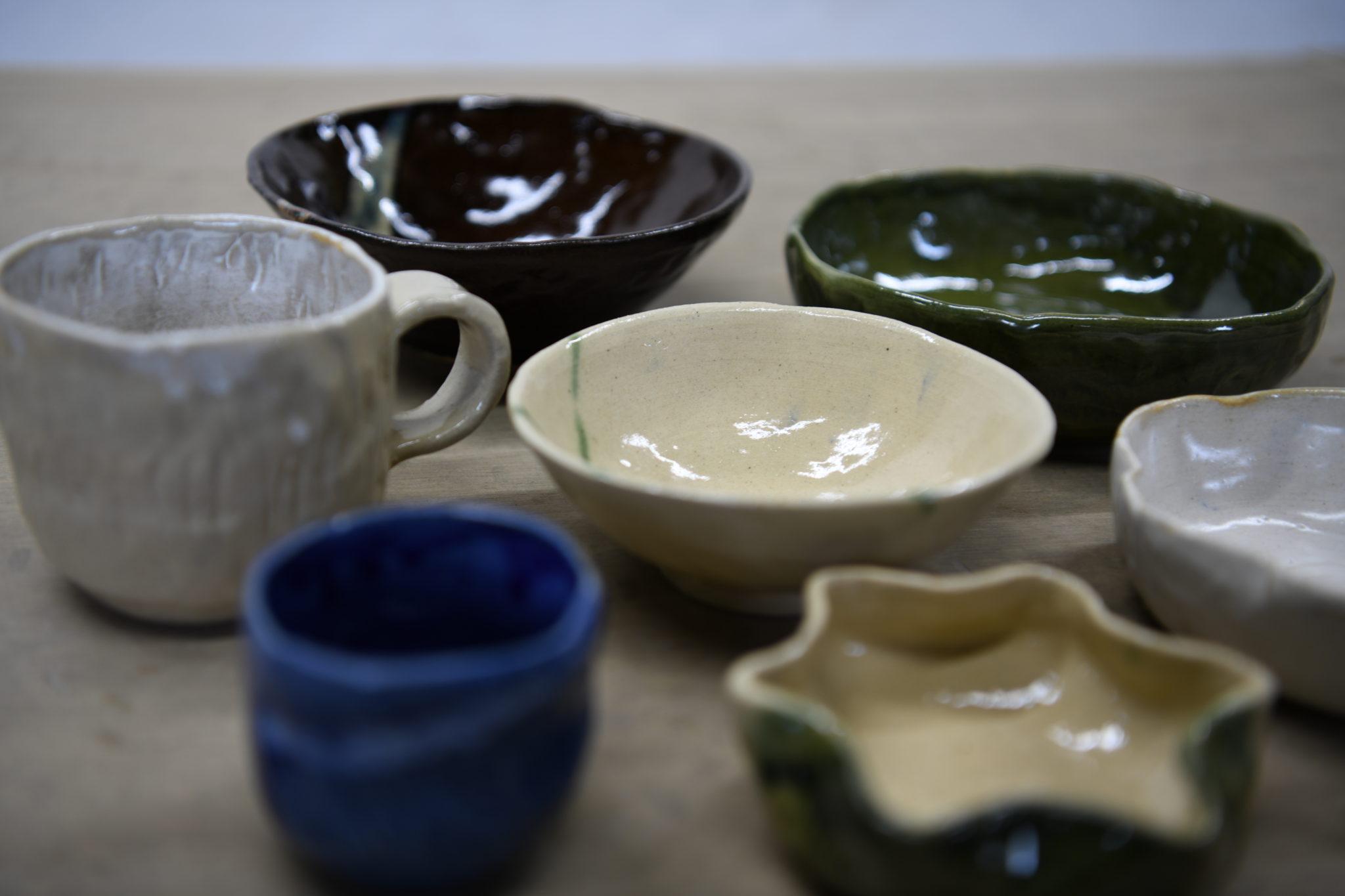 世界でたったひとつの作品をつくってみませんか♡ 手回しろくろでつくる山寺焼体験「ながせ陶房」