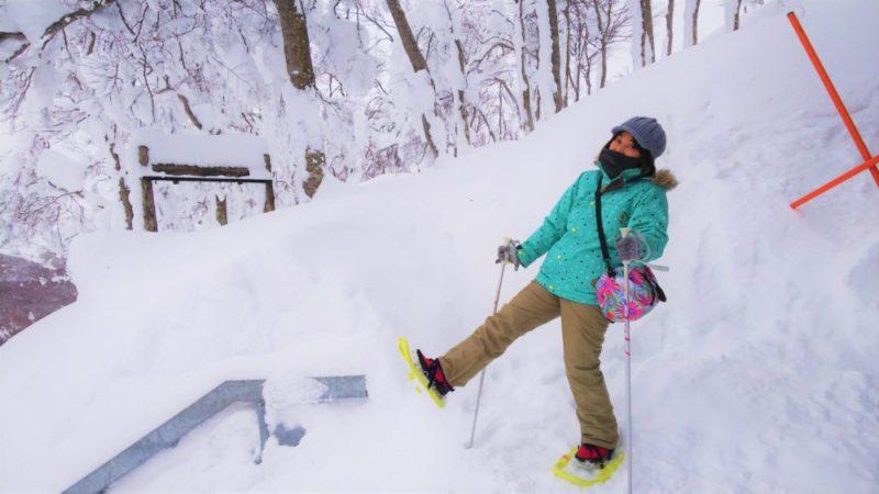 冬の蔵王でかんじきスノーハイク!自分のペースで蔵王の雪原を冒険しよう