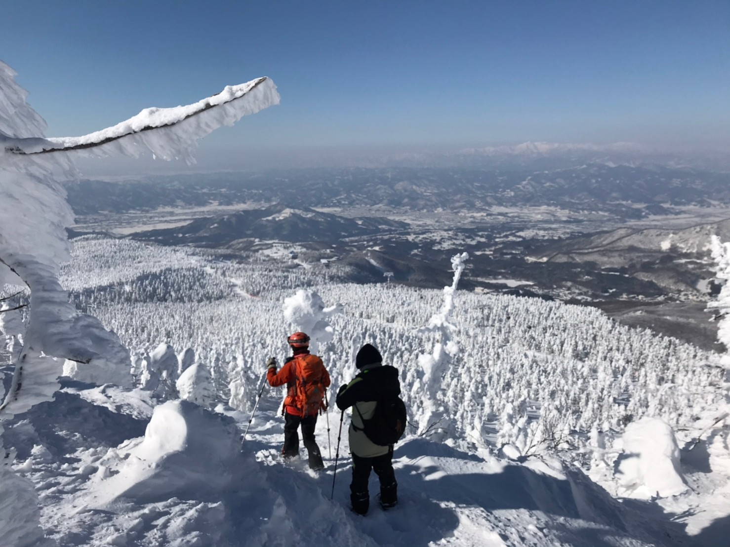 [Activity] Snowshoes Trekking at Zao! Snow Monsters with a guide